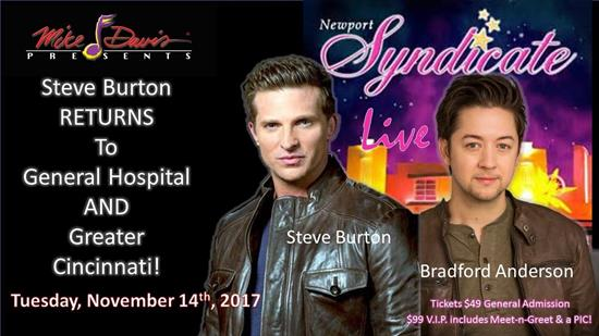 A Night with General Hospital's Steve Burton and Bradford Anderson